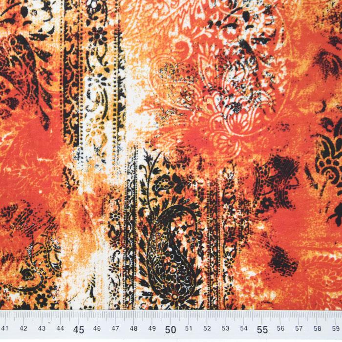 Jersey, viskoza, ornamentni, 22686-109