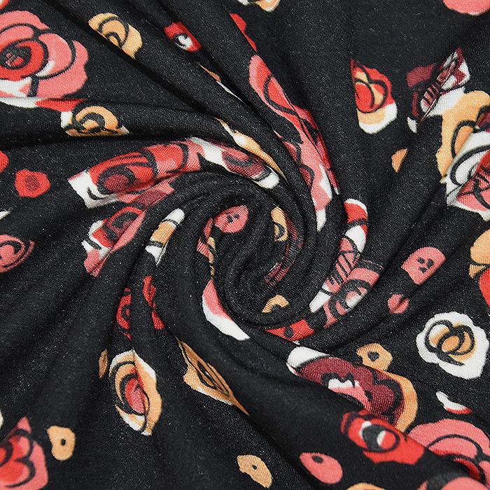 Jersey, viskoza, cvetlični, 22686-114