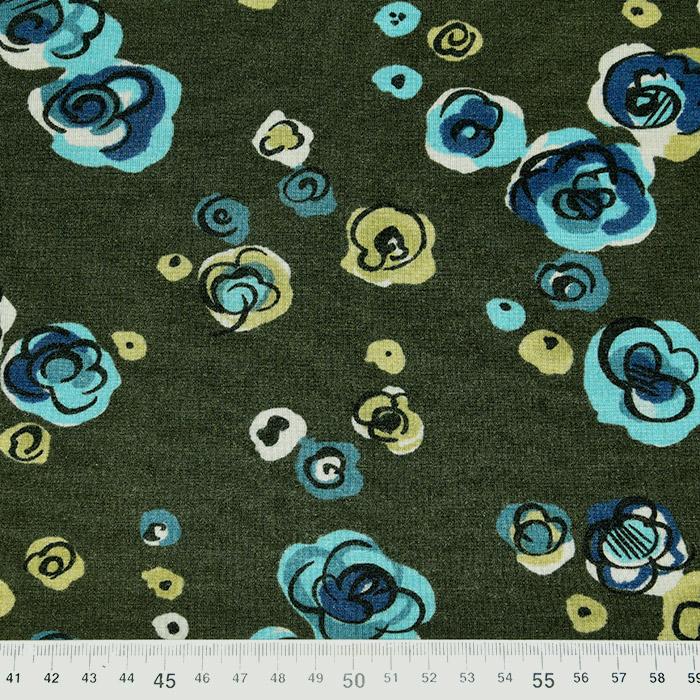 Jersey, viskoza, cvetlični, 22686-135