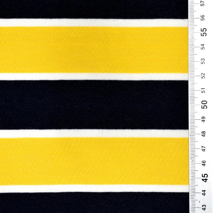 Jersey, bombaž, črte, 22686-200