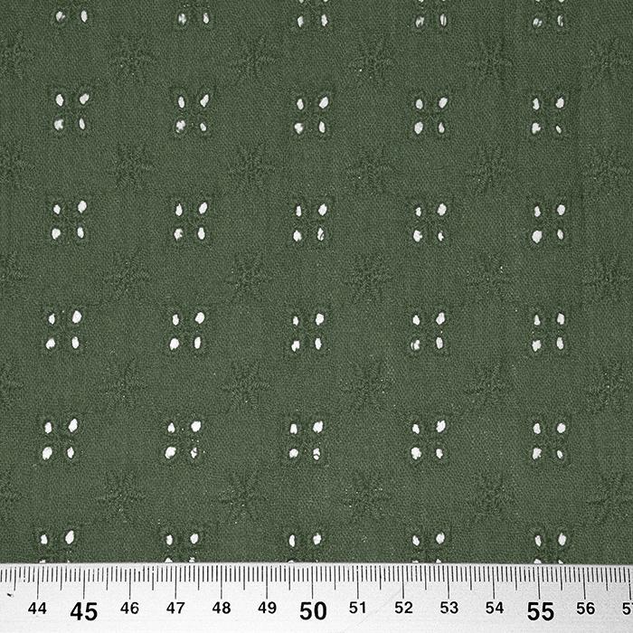 Tetra tkanina, dvojna, rišelje, 22719-027, zelena