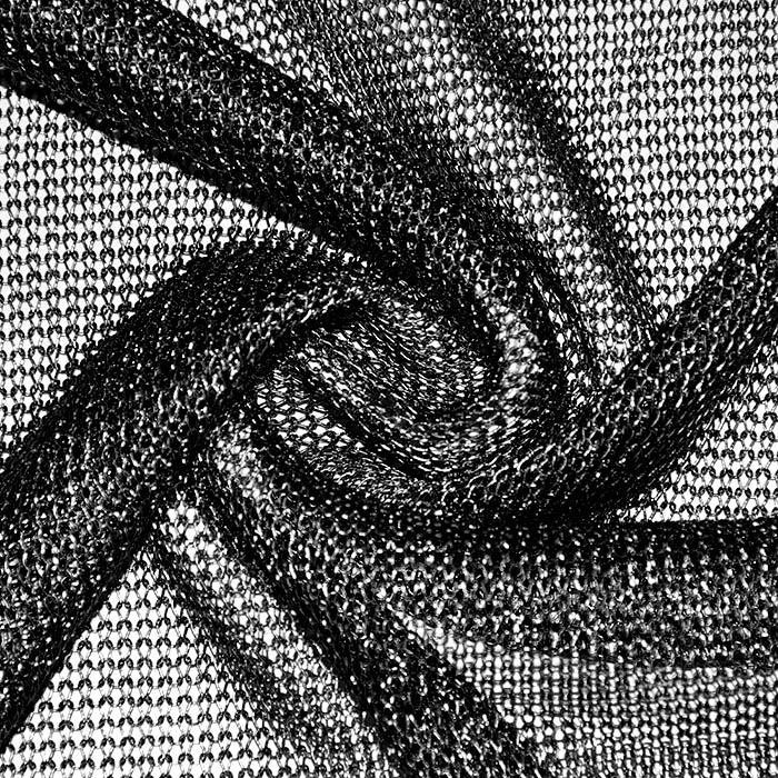 Pletivo, tanjše, poliester, 22578-3, črna