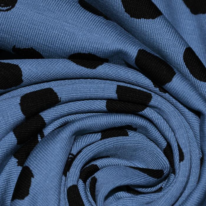 Jersey, bombaž, pike, 22730-006, modra