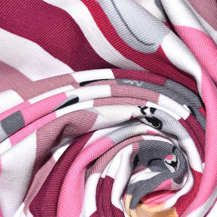 Jersey, bombaž, otroški, 22767-013, roza