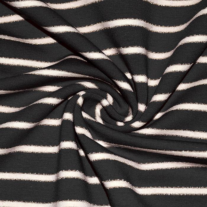 Prevešanka, črte, 22790-005, črna