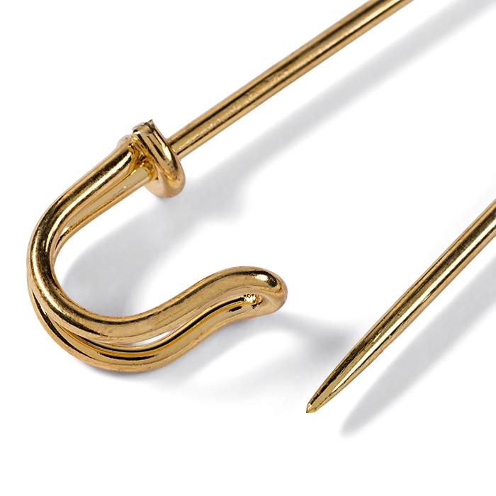 Ziherica ukrasna, Prym, 76 mm, 71603, zlatna