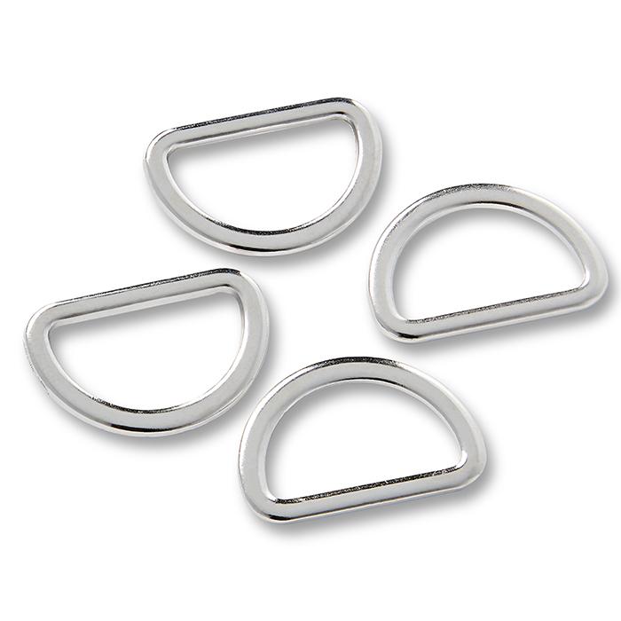 Poluobruč, metalni, Prym, 20 mm, 555220, srebrna
