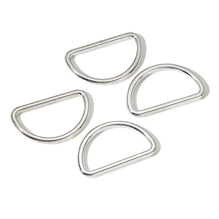 Poluobruč, metalni, Prym, 30 mm, 555230, srebrna