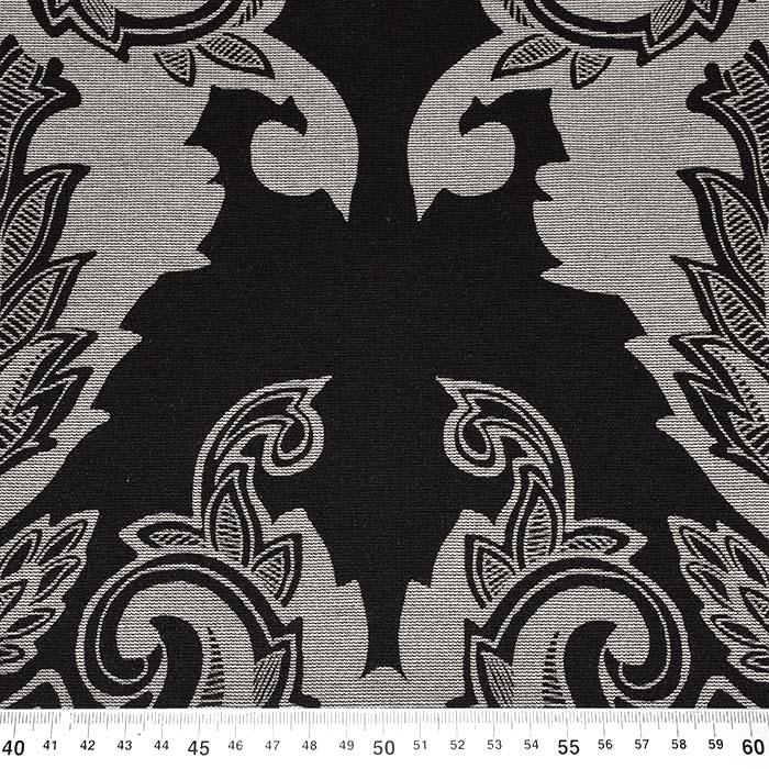 Pletivo, gosto, ornamentni, 22686-308, črna