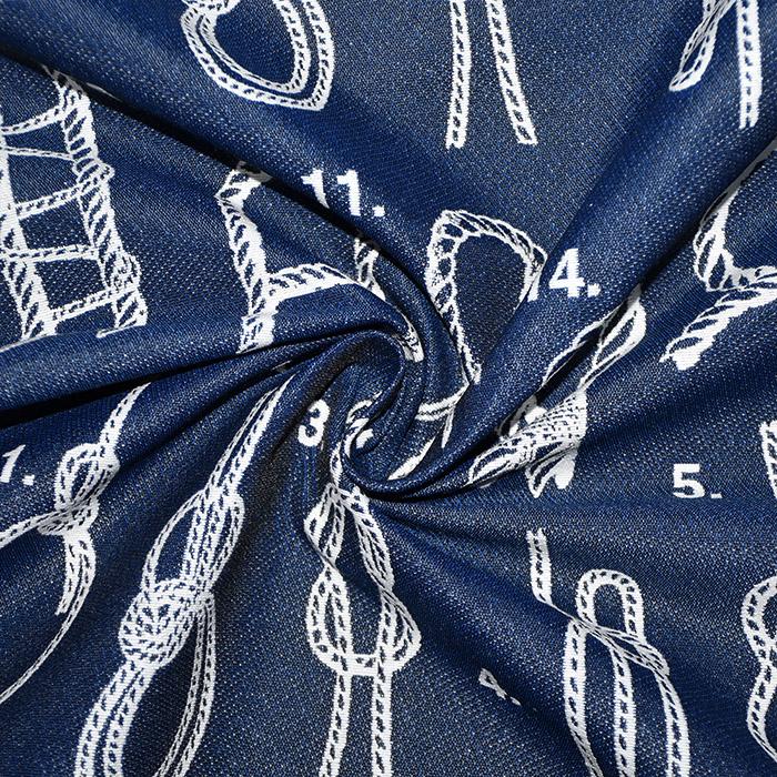 Deko žakard, obojestranski, morski, 22894-3