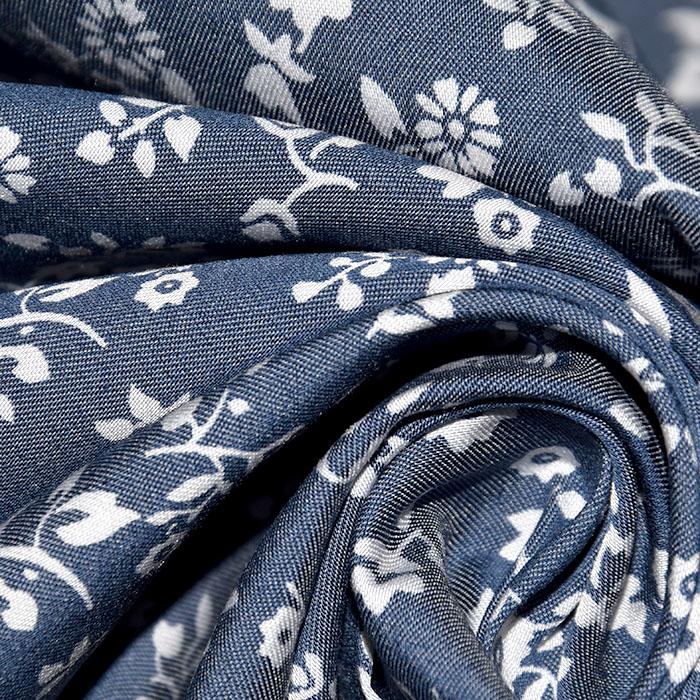 Jeans, srajčni, cvetlični, 22521-22