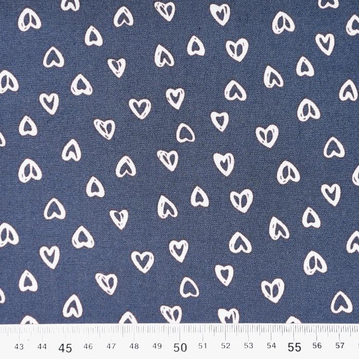 Jeans, srajčni, srčki, 22521-28, bela