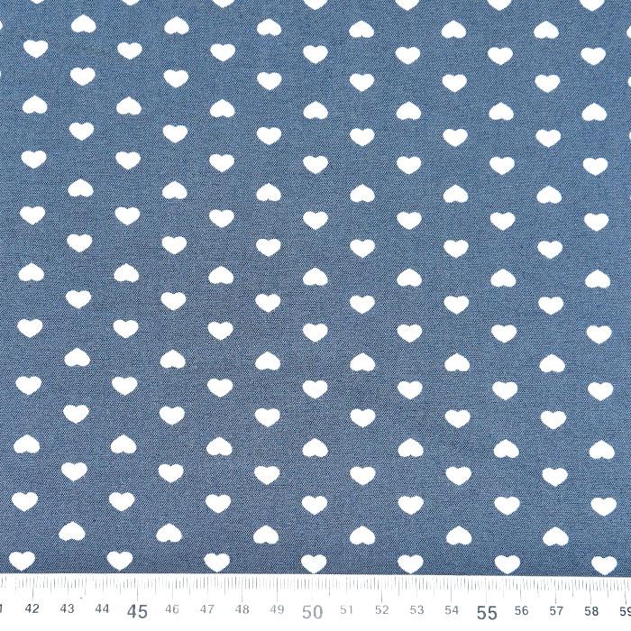 Jeans, srajčni, srčki, 22521-29, svetlo modra
