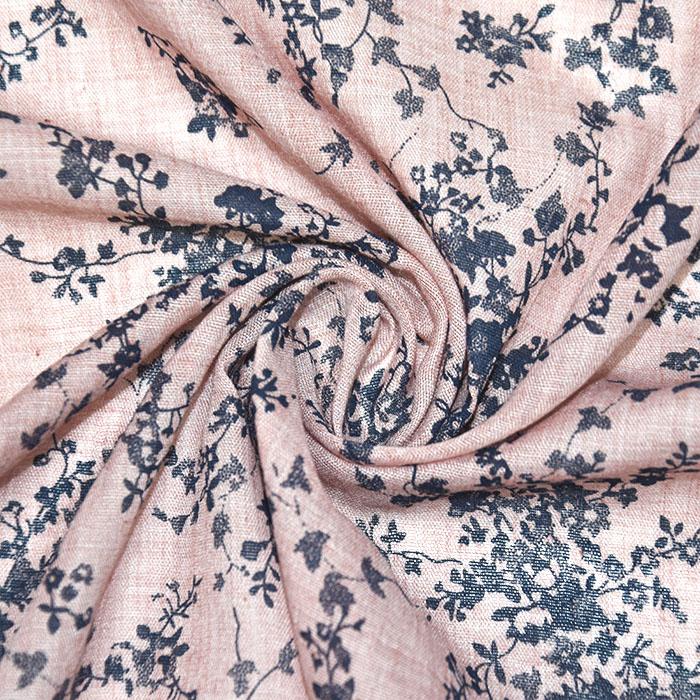 Tkanina, tanjša, cvetlični, 22521-41, roza