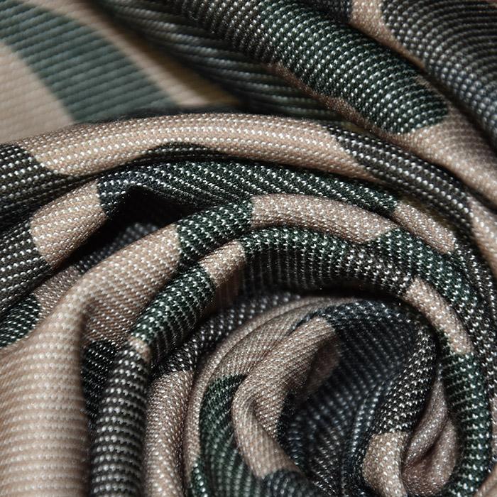 Pletivo, jeans, kamuflažni, 22521-54, rjava