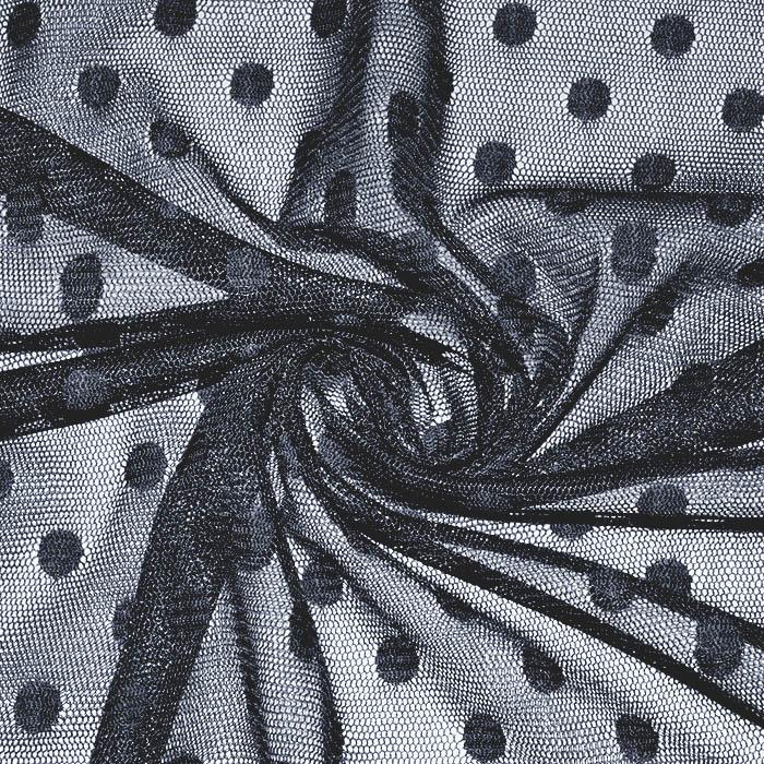 Mreža, prožna, pike, 22932-008, temno modra