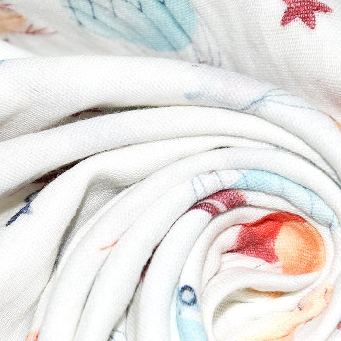 Tetra tkanina, dvostruka, dječji, 22946-02, bijela