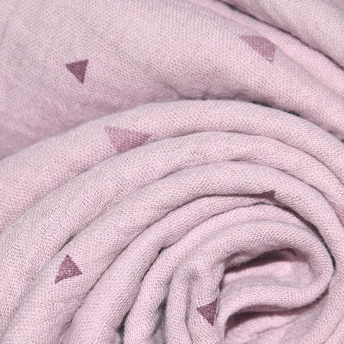 Tetra tkanina, dvojna, geometrijski, 22963-012, roza