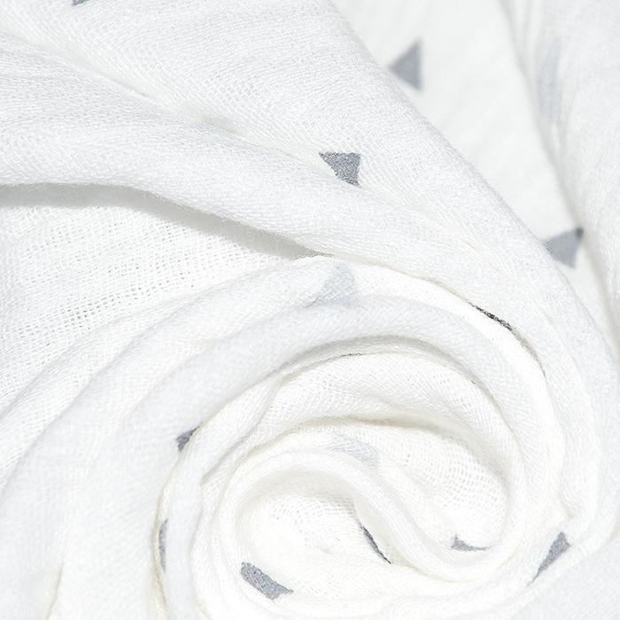 Tetra tkanina, dvostruka, geometrijski, 22963-050, bijela