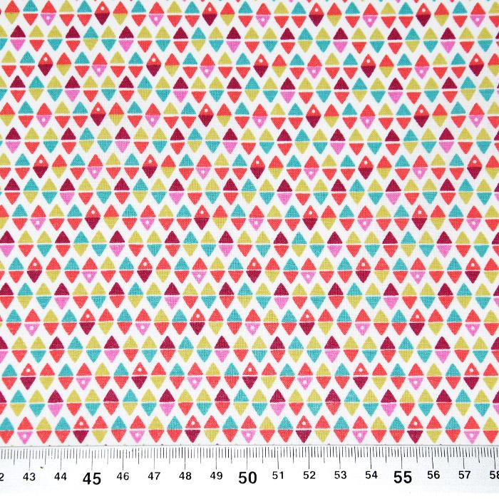 Bombaž, poplin, geometrijski, 22985