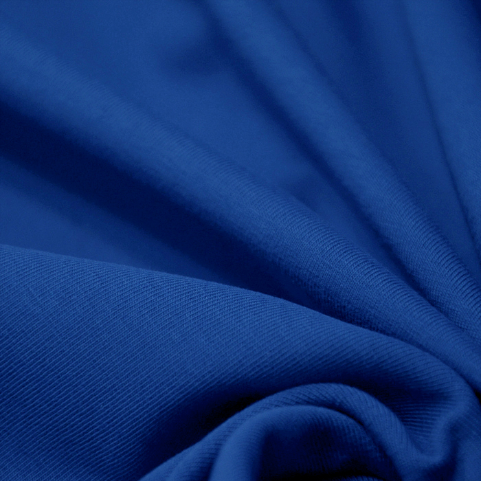 Jersey 10 m, bombaž, 100-195, modra