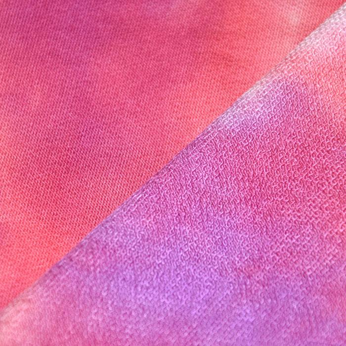 Prevešanka, viskoza, tie-dye, 23046-1, vijola