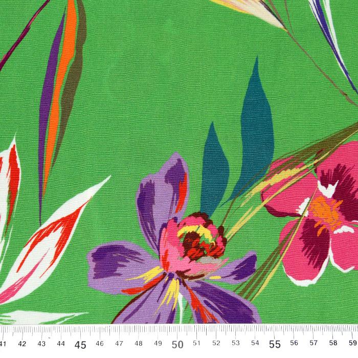 Tkanina, viskoza, cvetlični, 23055-1