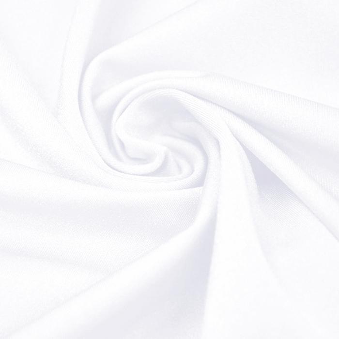 Poliamid, elastan, svetleča, 23067-06, bela