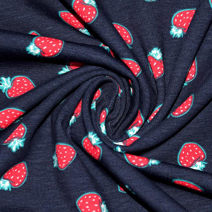 Jersey, bombaž, dišeči, sadje, 22609-108, modra