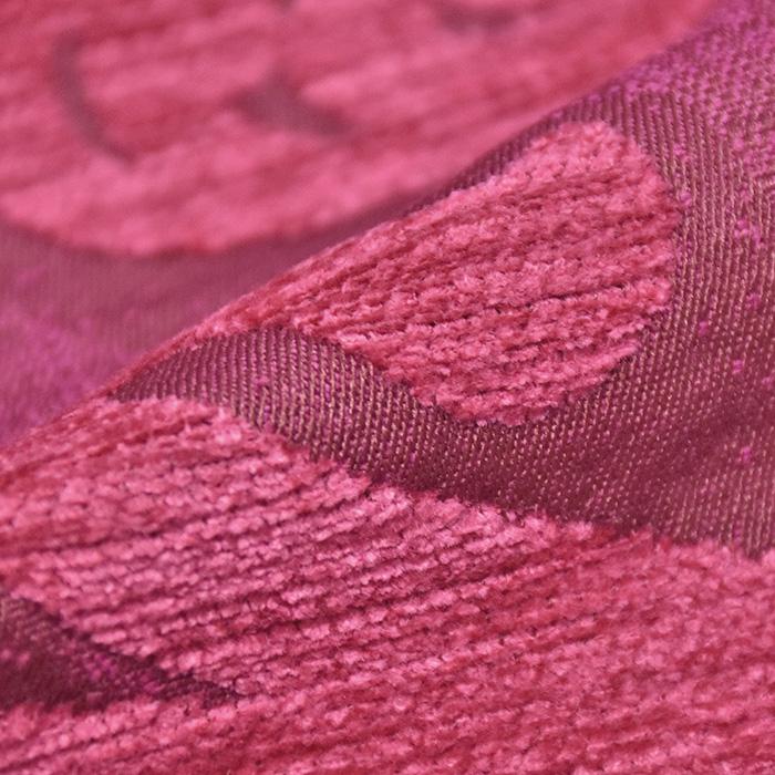 Deko žakard, obojestranski, cvetlični, 23104-900, roza