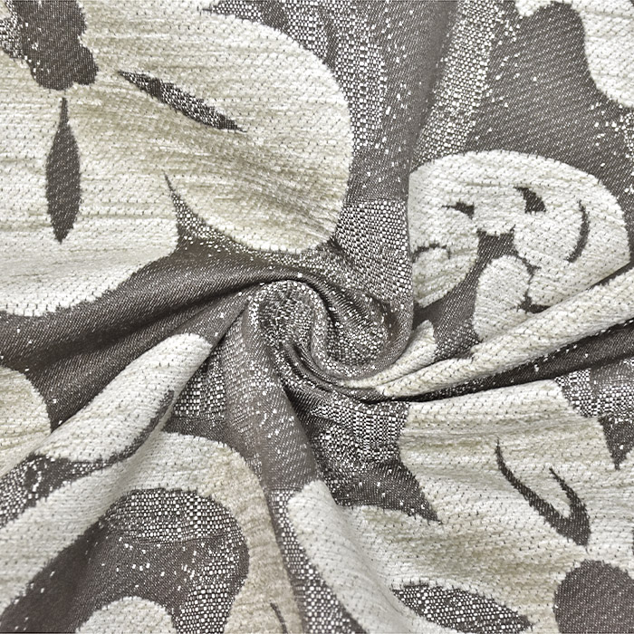 Deko žakard, obostrani, cvjetni, 23104-400, bež