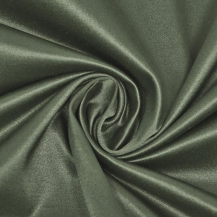 Saten, bombaž, 22356-027, zelena