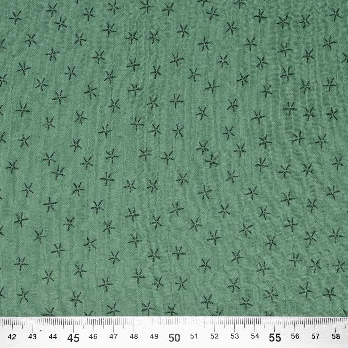 Tetra tkanina, trojna, geometrijski, 23244-123, mint zelena