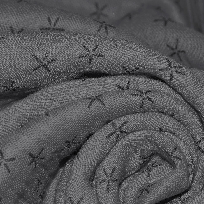 Tetra tkanina, trojna, geometrijski, 23244-168, siva