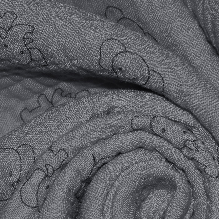 Tetra tkanina, trojna, 23244-268, siva