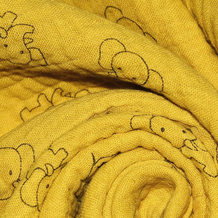 Tetra tkanina, trojna, geometrijski, 23244-285, oker