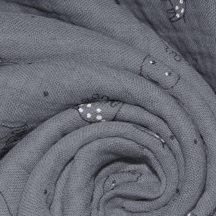 Tetra tkanina, trojna, živalski, 23244-368, siva