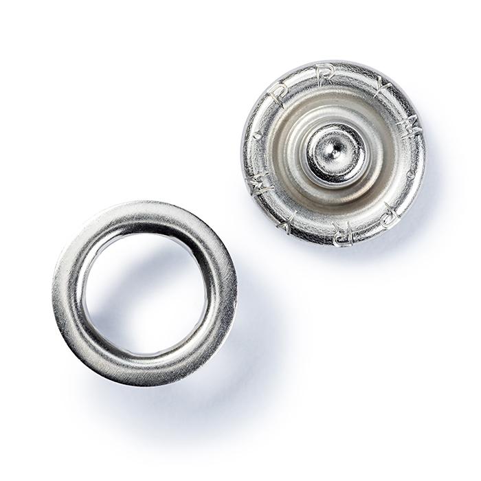Pritiskači za jersey, Prym, 10 mm, 390127, srebrna
