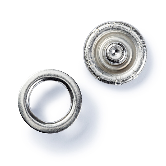 Drukeri za jersey, Prym, 10 mm, 390127, srebrna