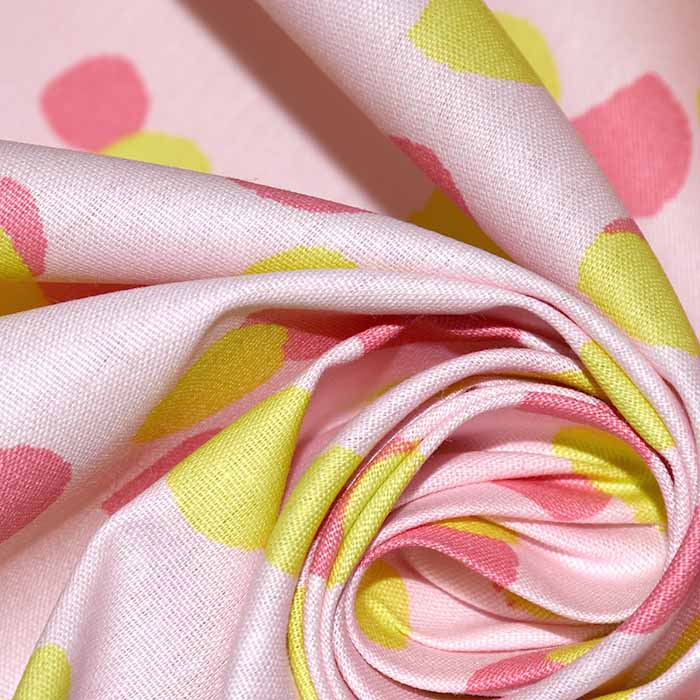 Bombaž, poplin, pike, 23362-009, roza