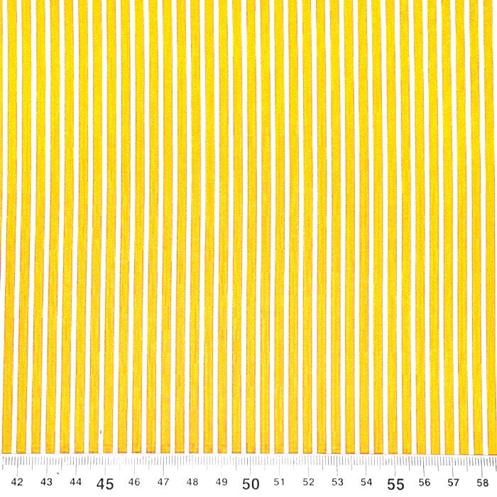Bombaž, poplin, črte, 23367-016, rumena