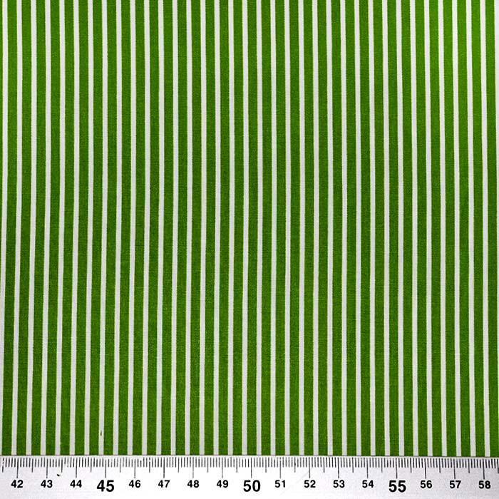 Bombaž, poplin, črte, 23367-027, zelena