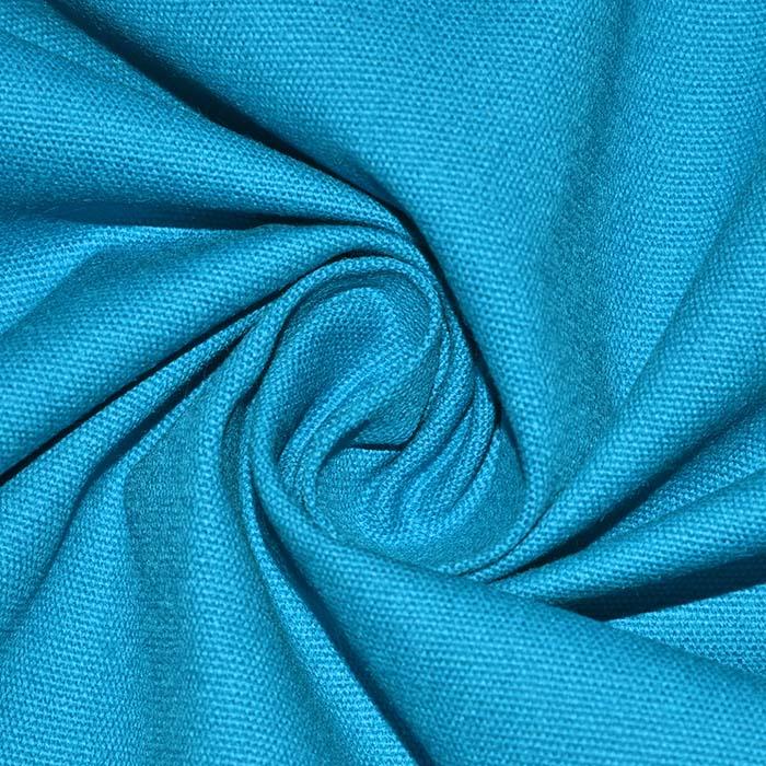 Tkanina, bombaž, kanvas, 4826-10, turkizna