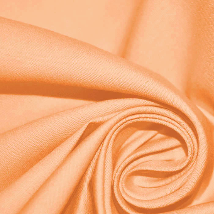 Bombaž, poplin, 4828-119, svetlo oranžna