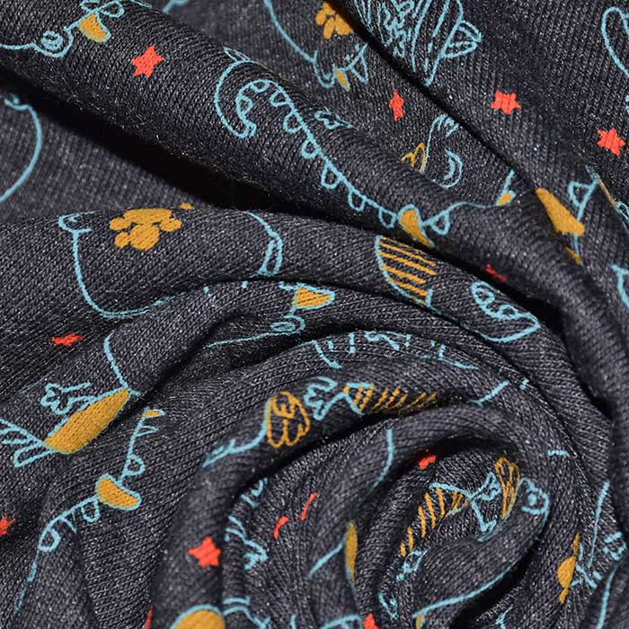 Jersey, živalski, 23420-008, sivomodra