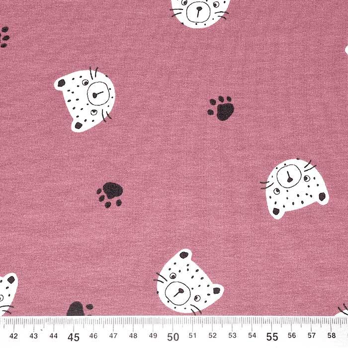 Triko materijal, životinjski, 23430-010, ružičasta