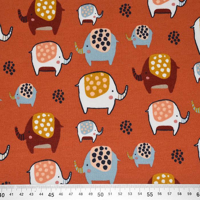 Prevešanka, kosmatena, živalski, 23451-006, opečna
