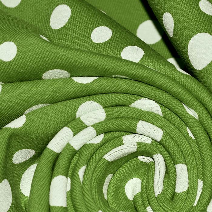 Jersey, bombaž, pike, 23508-8, zelena