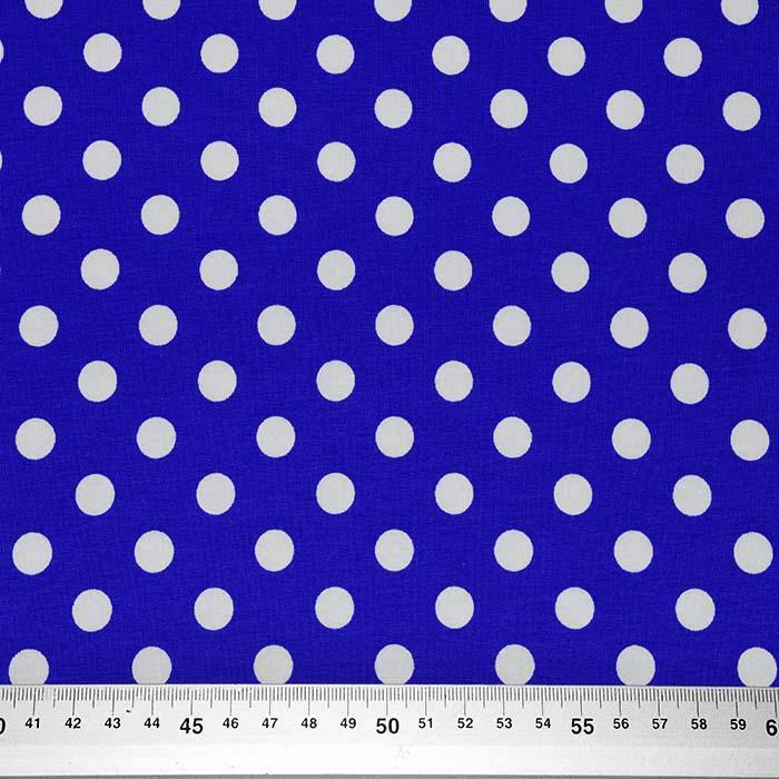 Jersey, bombaž, pike, 23524-10, modra