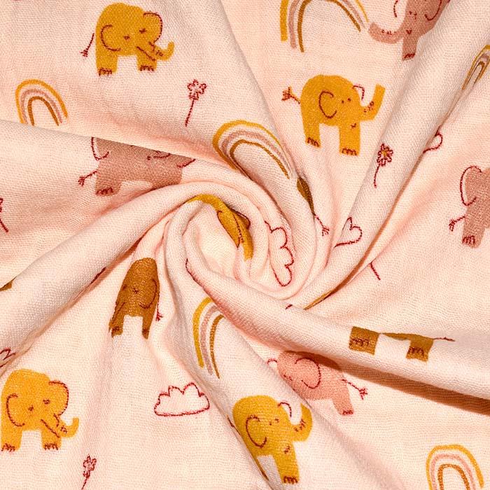 Tetra tkanina, dvojna, otroški, 23645-002, marelica